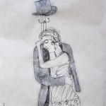 The artist, illustrazione