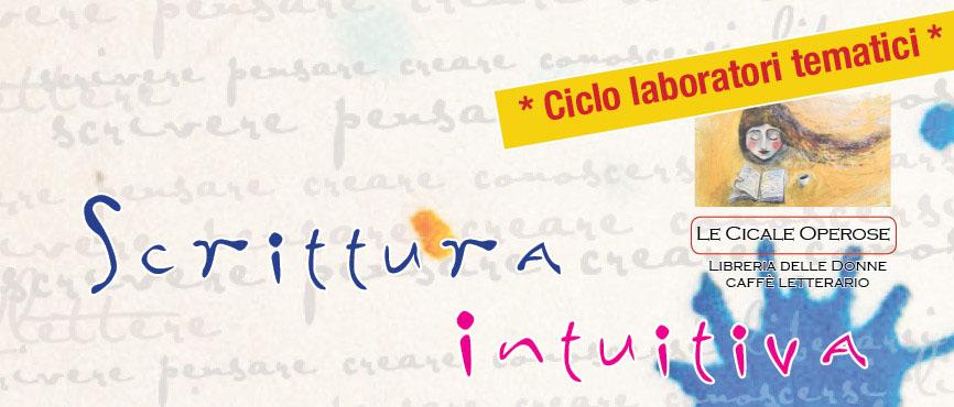 Laboratorio di scrittura intuitiva a Livorno
