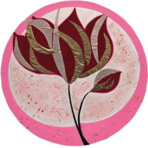 Mandala dipinto da Monica Morganti