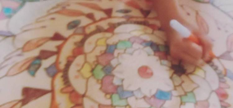 Il mandala gigante da colorare, un'esperienza