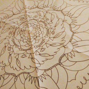 Mandala gigante da colorare